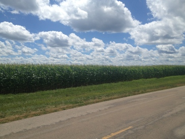 Corn, Clouds and Church - The midwest