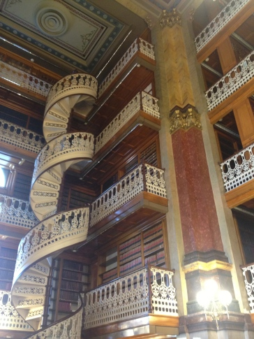 Amazing Ironwork in the library