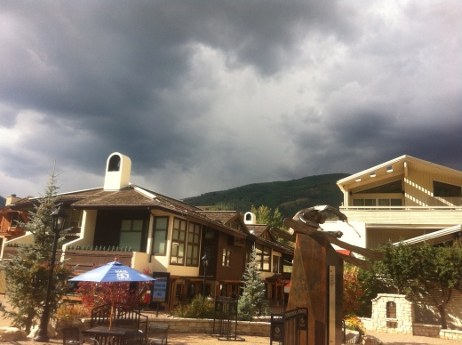 The Rain Heading for Vail.